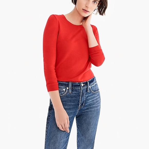 295b1aa24ecc J. Crew Sweaters | J Crew Tippi Sweater Merino Wool Bright Cerise Xs ...
